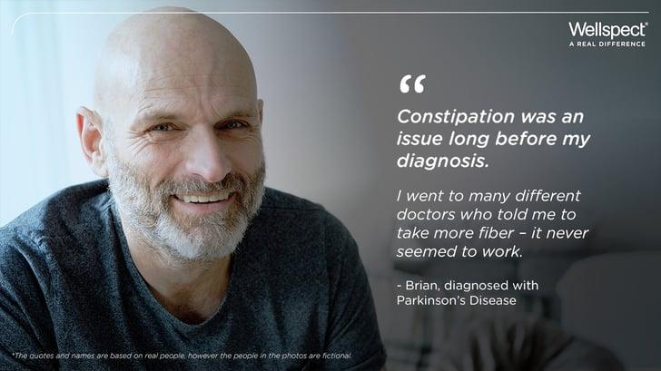Parkinsons Ethan quote bowel