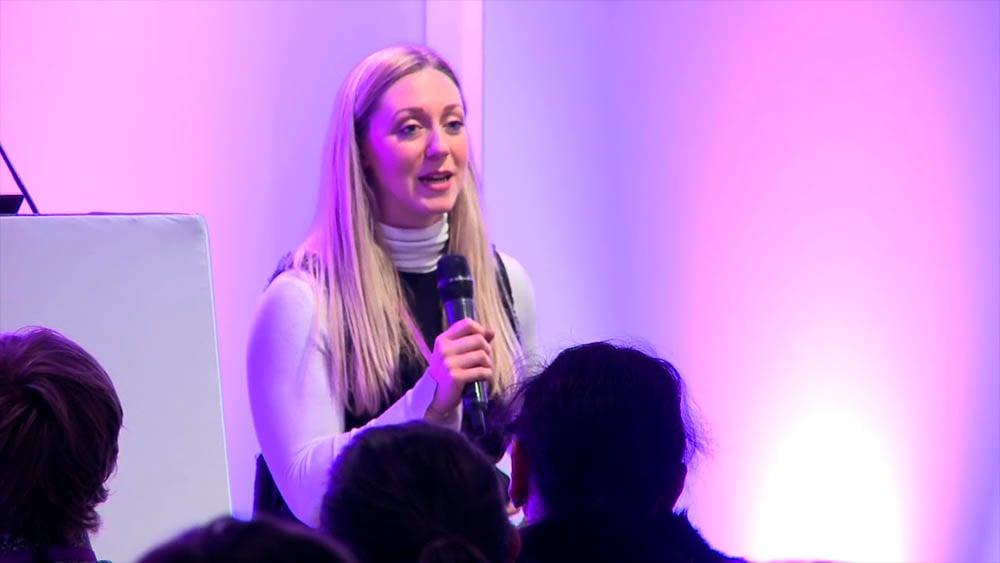 Sophie Carrigill 16_9 Addressing conference